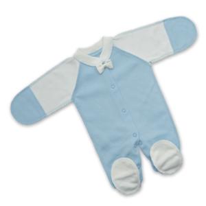 чоловічок для недоношених немовлят бантик блакитний